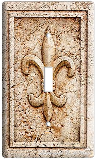 Fleur De Lis Single Light Switch Wall Plate Switchcover